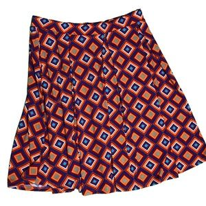 LuLaRoe Skirts - New LulaRoe Madison XL Knee Length Skirt Diamond
